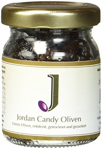 Jordan Olivenöl Candy - 20g Glas, 2er Pack (2 x 20 g) (Glas Zucker Brauner)