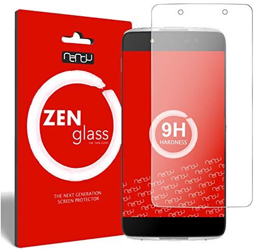ZenGlass [2 Stück Flexible Glas-Folie für Alcatel Idol 4 Panzerfolie I Bildschirm-Schutzfolie 9H