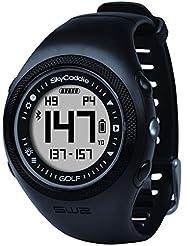 Skycaddie SW2 - Reloj de pulsera con GPS, para golf, color negro/cromado