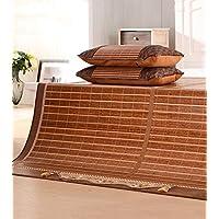 Preisvergleich für Doppelseitiges Dienstprogramm - Doppelseitige Bambusmatte Faltbare Klimaanlage Matte