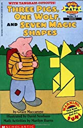 Three Pigs, One Wolf, Seven Magic Shapes (level 3) (Scholastic Reader, Math) by Grace Maccarone (1998-01-01)