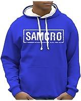 Sons of Anarchy Redwood SAMCRO Sweatshirt mit Kapuze - div. Farben Gr.S M L XL