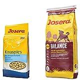 Josera Balance 15 kg - Plus 1,5 kg Knuspies