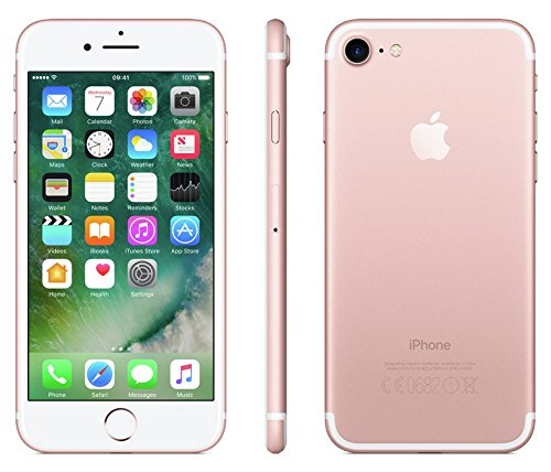 "Apple iPhone 7 Single SIM 4G 32GB Pink gold - smartphones (11.9 cm (4.7""), 32 GB, 12 MP, iOS, 10, Pink gold)"