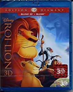 le roi lion blu-ray 3D +blu-ray edition diamant