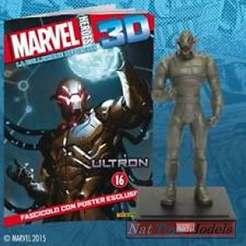 COLLEZIONI Marvel Heroes 3D Ultron Resin Figure Statue Collection +fas
