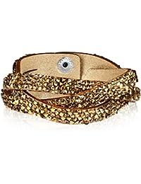 Rafaela Donata - Bracelet fashion cristal de verre - En différentes longueurs, bracelet cristal de verre - 60917036