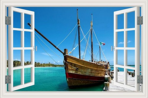 3d-sticker-mural-voilier-fenetre-paysage-marin-home-en-papier-peint-en-vinyle-w0002-20x28