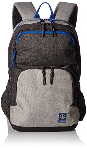 Volcom - Roamer Backpack, Mochilas Hombre, Grau (Heather Grey), 17x32x47 cm (B x H T)