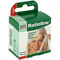 Preisvergleich für RATIOLINE acute Heftpflaster 2,5cmx5m, 1 St