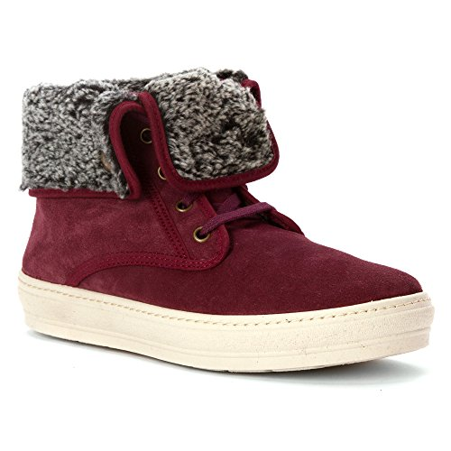 Natural World  I6-nw805_820bo_37, Baskets pour femme rouge rouge 37 EU Rouge