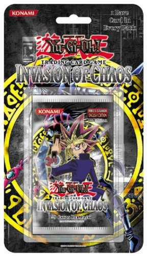 Yu-gi-oh! Tcg, Invasion of Chaos Blister Booster Pack