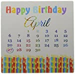 """Birthday on April 27th, Colorful Birthday Candles with Flames Mouse Pad is 8"""" x 8"""" x .25"""" and is made of heavy-duty recycled rubber. Matte finish image will not fade or peel. Machine washable using a mild detergent and air dry."""