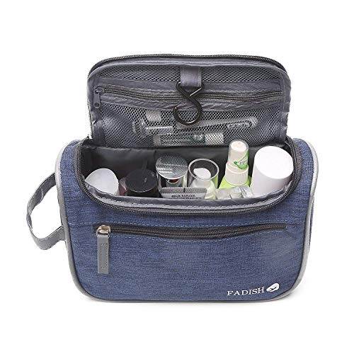 Hängende Reise Kulturbeutel Organizer & Bad Hygiene Dropp Kit mit Haken für Reisen Zubehör Toilettenartikel Badezimmer Rasur & Make-up für Männer und Frauen
