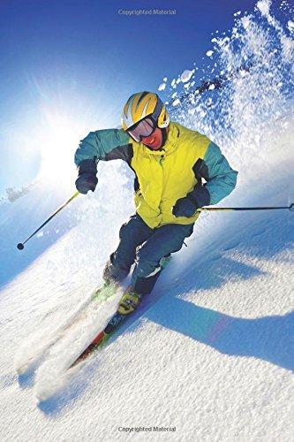 Skiing Blank Book: Volume 3 (Sports 150 Blank)