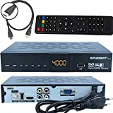 Echosat 20500 Digitaler Satelliten HD Receiver (HDTV, DVB-S /DVB-S2, HDMI, AV, 2X USB 2.0, Full HD 1080p, Digital Audio Out) [Vorprogrammiert für Astra, Hotbird und Türksat]