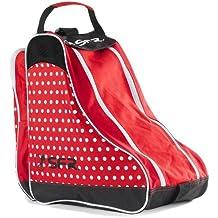 SFR/para patines de hielo funda bolsa de transporte, Red Polka