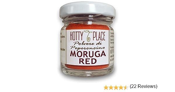 MORUGA RED Polvere Peperoncino Piccante ESTREMO 2° Guinness Record 10g vaso