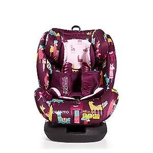Cosatto All-in-All Group 0+123 Car Seat, Llamarama, 0-36 kg   5