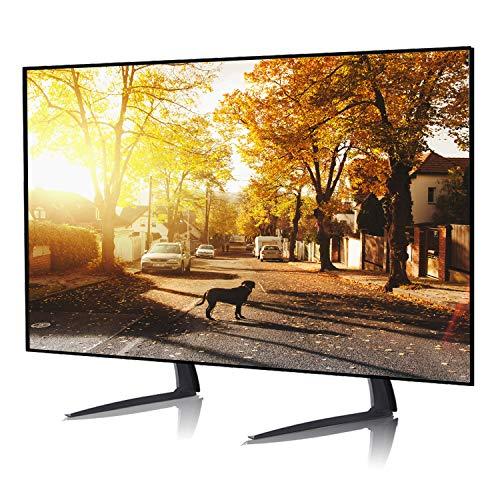 RFIVER Universal TV Füße Fuß Ständer Standfuss Standfuß Standfüße für 22 bis 55 Zoll Fernseh Fuss Fernsehständer Tischständer Höhenverstellbar VESA Max. 800x400mm UT3002