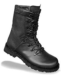 Mil-tec bottes de combat tactical en cuir 9