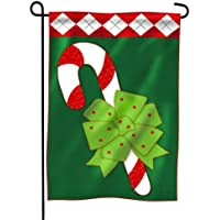 Decorazione Natale Candy Cane divertente applique da