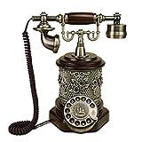 Retro Telefon FJH Seat Metall Drehwahl Mechanische Ringtone Verdrahtung Pastoralen Mode Kreative Europäische Home Office 230mm * 310mm * 255mm