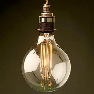 akldigital Old Fashioned Edison Style Light Bulb Filament Globe XL SizeE27 Screw