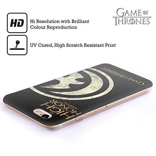 Offizielle HBO Game Of Thrones Stark House Mottos Soft Gel Hülle für Apple iPhone 7 / iPhone 8 Arryn