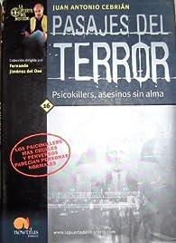 Pasajes del terror par Antonio Cebrian