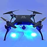 Hanbaili S16 Pressure Set High Foldable Quadcopter Drone,Equipped with 0.5 Megapixel Camera 360 Degree Flip/Headless Mode/One-click Return Upgraded Flying Toy for Kids