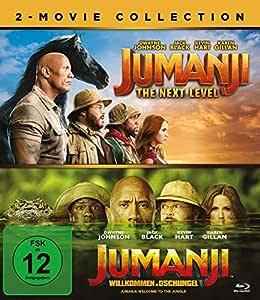 Jumanji: The Next Level / Jumanji: Willkommen im Dschungel - Blu-ray