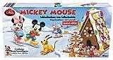Micky Maus Lebkuchenhaus zum selberbasteln mit 3 Disney Sammelfiguren