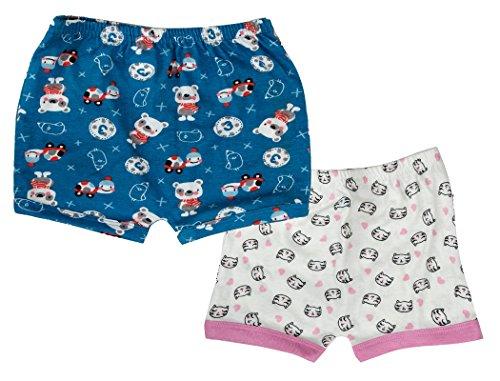 Sofie & Sam Bio-Baumwolle 2er Pack Combo 3-6 Monate Baby Shorts