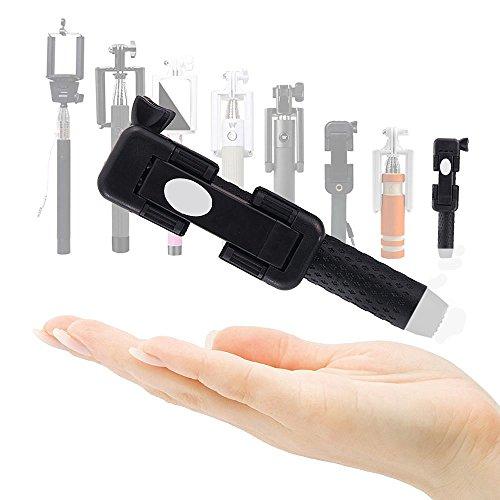 Magicmoon Selfie Stick Portatile Pieghevole Allungabile Monopiede con 3,5mm Cavo,