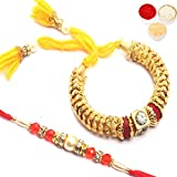 Best Gifts Gold - Ghasitaram Gifts Rakhis Online - Gold Fantasy Bangle Review