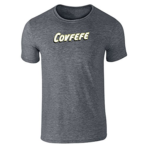 Pop Threads Herren T-Shirt Dark Heather Gray