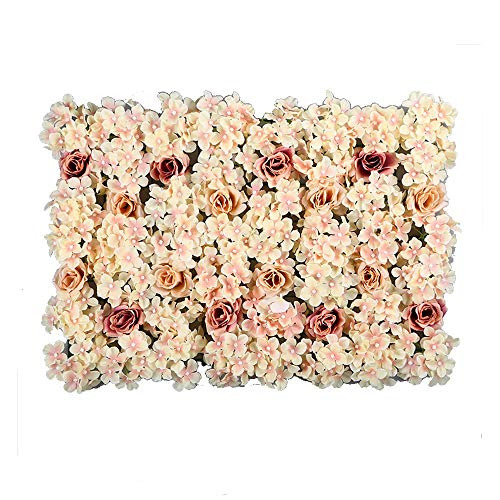 Wand Fotostudio Hintergrund  Bunter Blumen-Fotografie-Hintergrund Für Party Hochzeit DIY Art Künstliche Weihnachts Dekoration (Color : D, Size : 40x60cm) ()