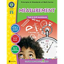 Measurement - Task & Drill Sheets Gr. 3-5 (English Edition)