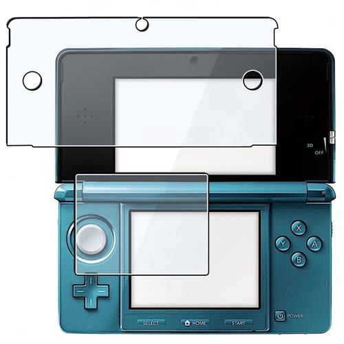 Preisvergleich Produktbild 10 Set for Nintendo 3DS LCD Screen Protector
