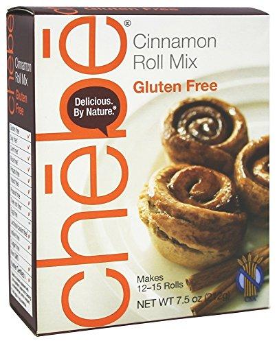 Chebe - Miscela Glutine-Libera di Roll-Ups della cannella - 7,5 oncia.