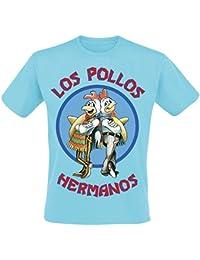 Breaking Bad Los Pollos Hermanos T-Shirt Light Blue