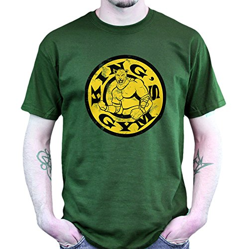 Golds Street Gym Fighter King T-shirt Grün