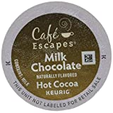 Milk Chocolate , 24-Count : Café Escapes Hot Cocoa, Milk Chocolate, K-Cup Portion