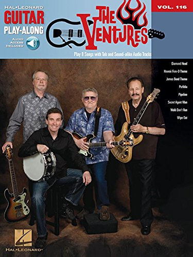 The ventures guitare+CD: 116 (Book & CD)
