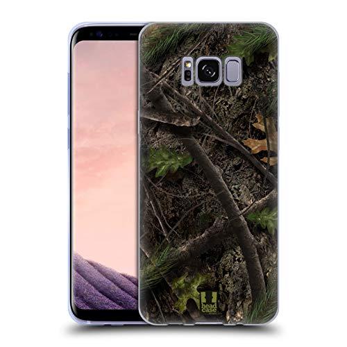 Head Case Designs Kiefernwald Truthahn Jagd Camouflage Jagd Soft Gel Huelle kompatibel mit Samsung Galaxy S8
