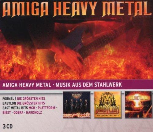 Preisvergleich Produktbild Amiga Heavy Metal: Babylon / Formel 1 / East Metal Hits