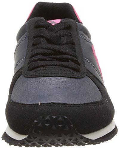 Le Coq Sportif Bolivar W, Baskets mode femme Noir (Black)