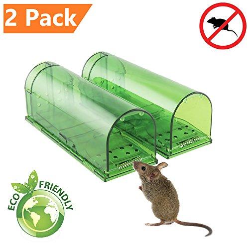 Schritt 2 Schlag-haus (ZenJäger 2X Pack Mäusefalle - Mäuse Lebendfalle - Lebende Tierfalle-Umweltfreundlich-innerhalb und außerhalb des Hauses)