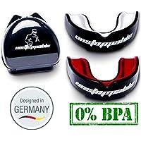 Unstoppable Mundschutz | Kampfsport | Zahnschutz | Boxen, MMA, Football | E-Book | Box & Anleitung Designed in Germany